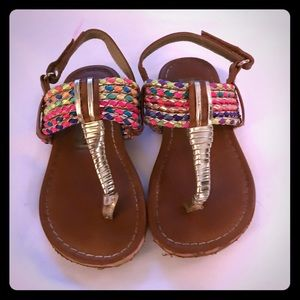 "GIRLS ""STEVE MADDEN"" SANDALS"